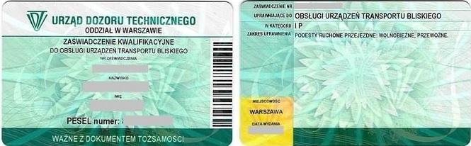 Bardzo dobra Wózek widłowy - Akademia Operatora Wrocław ZW53